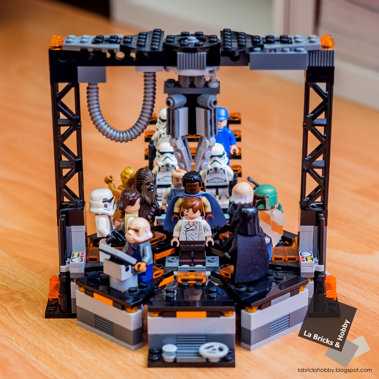 la bricks  u0026 hobby  lego star wars carbon freeze chamber