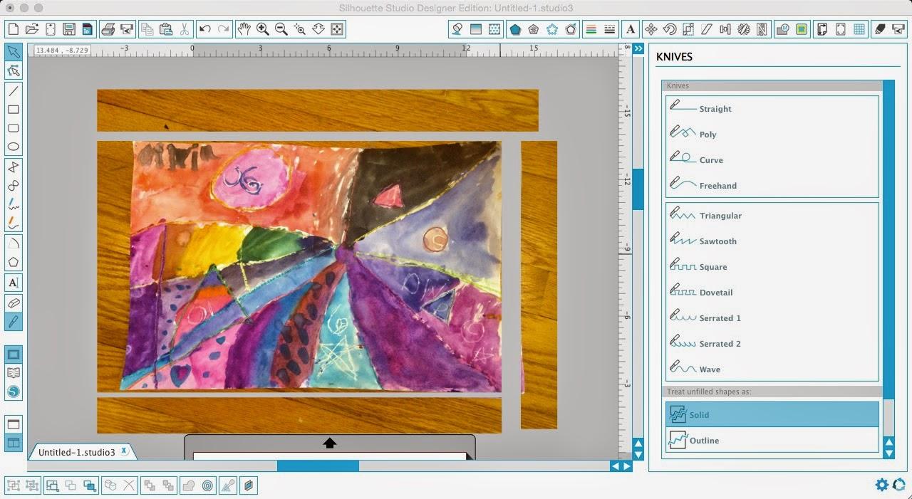 Silhouette tutorial, custom puzzle magnet, DIY, do it yourself, Silhouette Studio