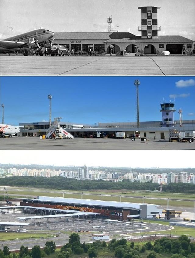 Aeroporto de Vitória - ES - Inauguração : 29/03/2018 -  Estado do Espírito Santo  Brasil -