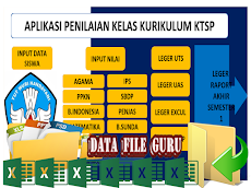 Aplikasi Penilaian KTSP Tampilan Baru Format Excel