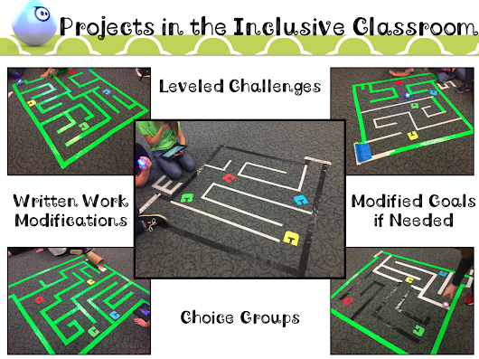 Inclusion in the Techy Classroom: Modified Sphero Mazes