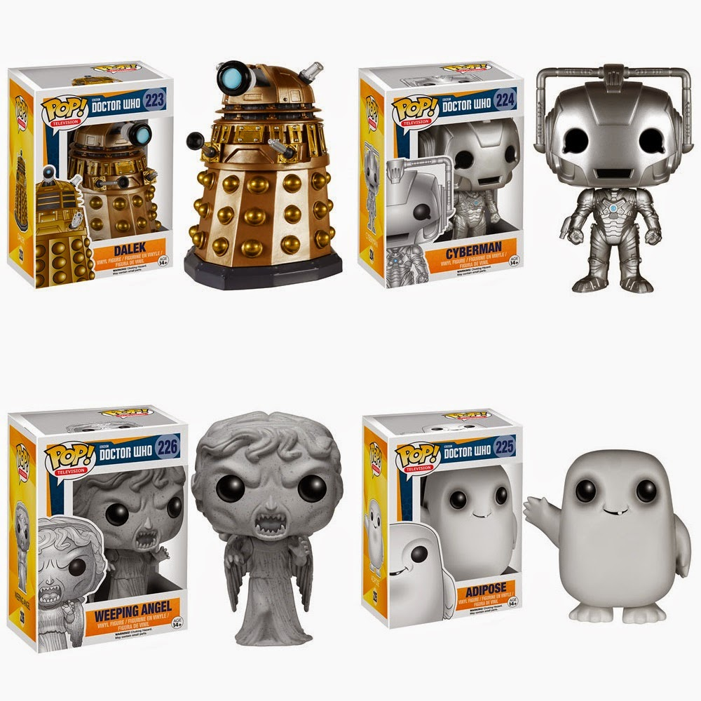 The Blot Says Doctor Who Pop Vinyl Figures By Funko
