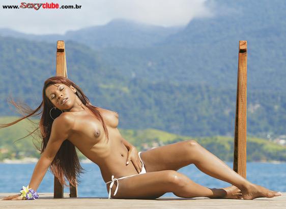 Solange do Big Brother Brasil 4 nua