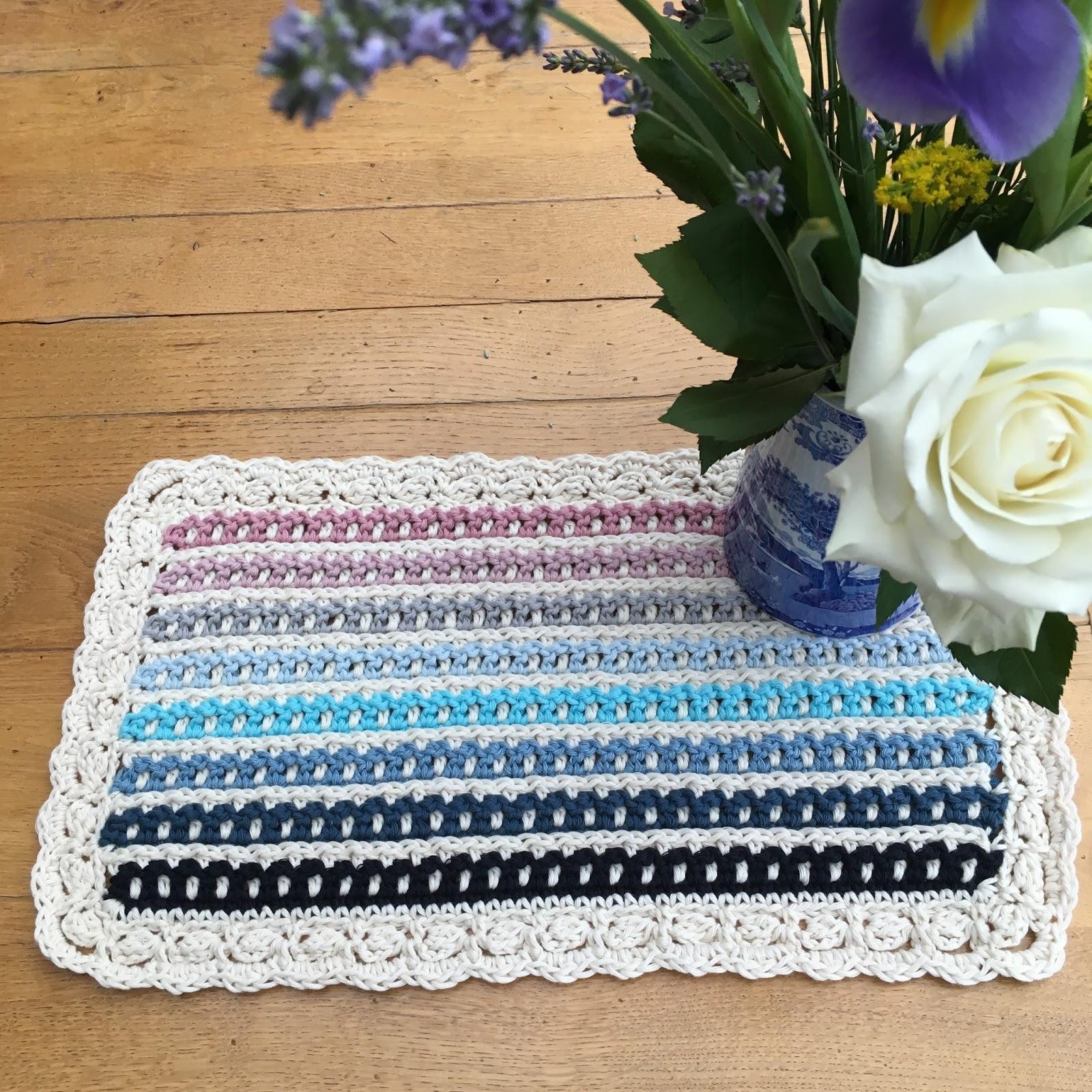 Felted Button - Colorful Crochet Patterns: Janus Blanket Crochet Pattern