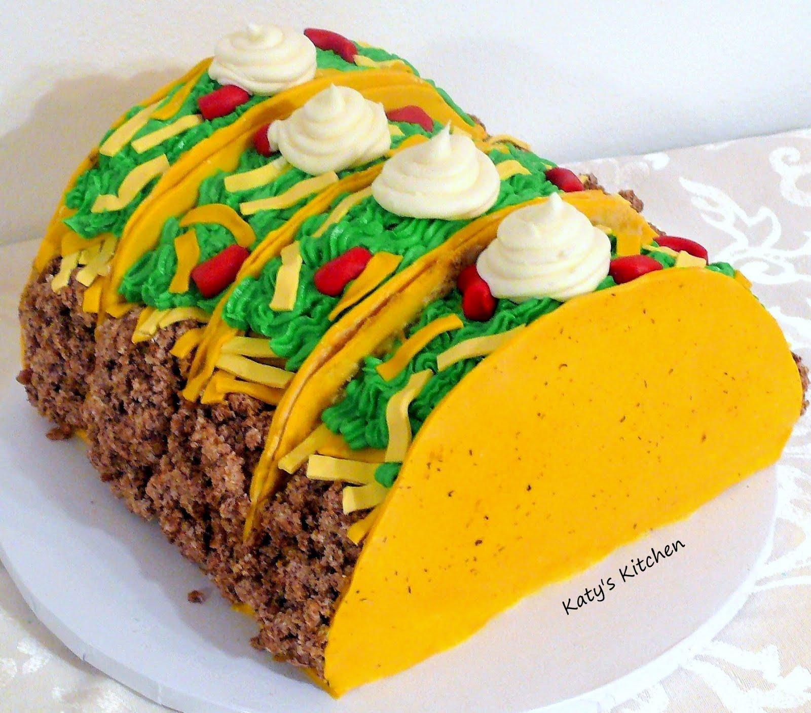 Cinco De Mayo Taco Birthday Cake