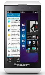 Gambar BlackBerry Z10 Putih
