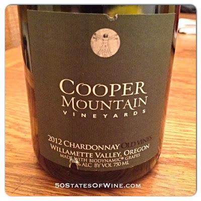 Cooper Mountain Vineyards 2012 Old Vines Chardonnay