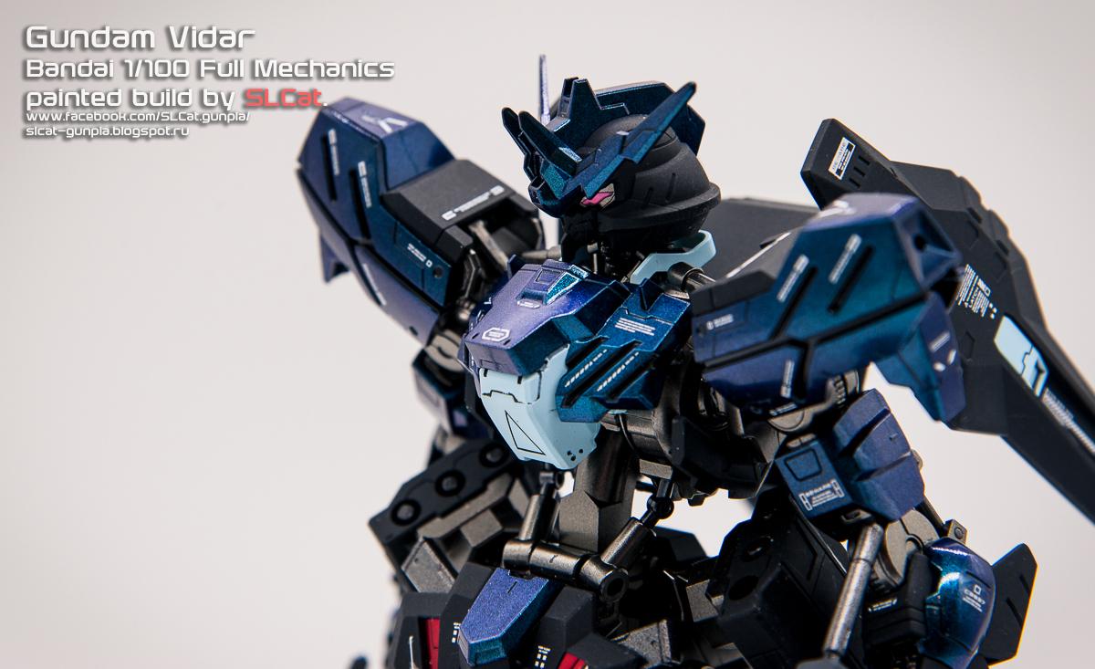 SLCat Gunpla Blog: FM 1/100 Gundam Vidar (painted build)