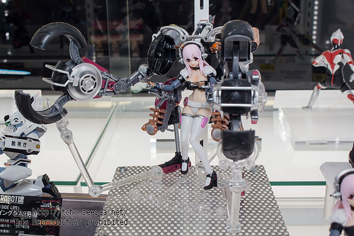 A.G.P. Super Sonico con Super Bike robot (10th Anniversary ver.) -  Tamashii Nations