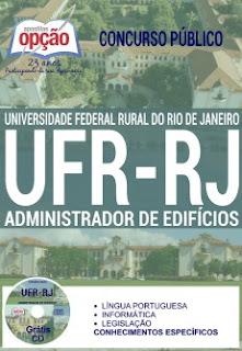 Apostila Universidade Federal Rural RJ (UFR-RJ) Administrador de Edifícios.