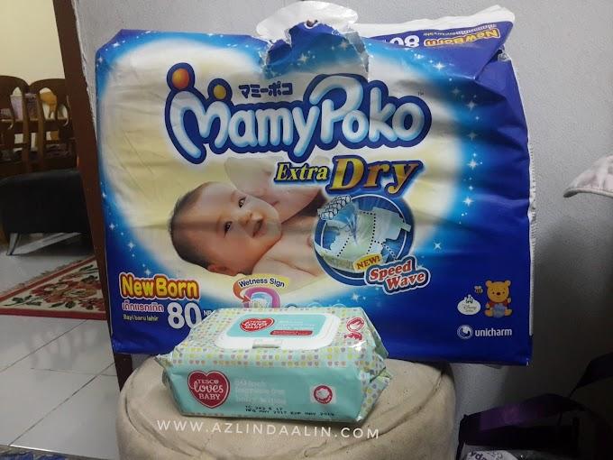 Baby Daim Naufal Kuat Berak dan Kencing !
