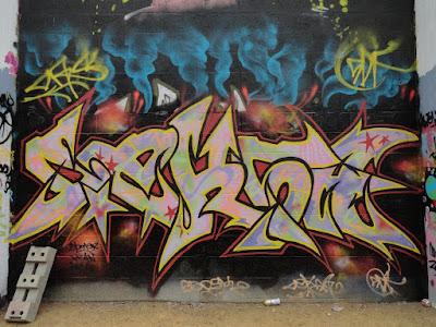 VUB Brussels graffiti jam