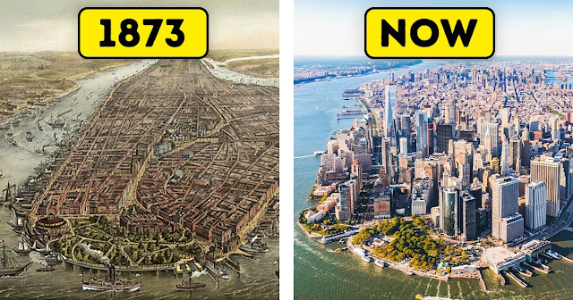 11 Amazing Cities That Have Changed Drastically Over the Years