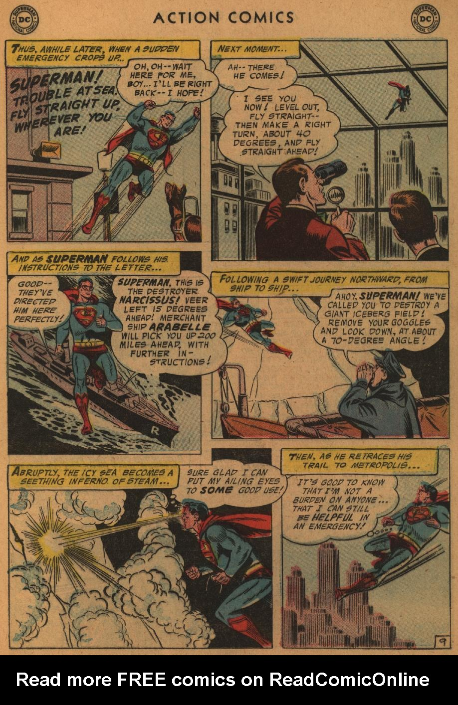 Read online Action Comics (1938) comic -  Issue #227 - 11