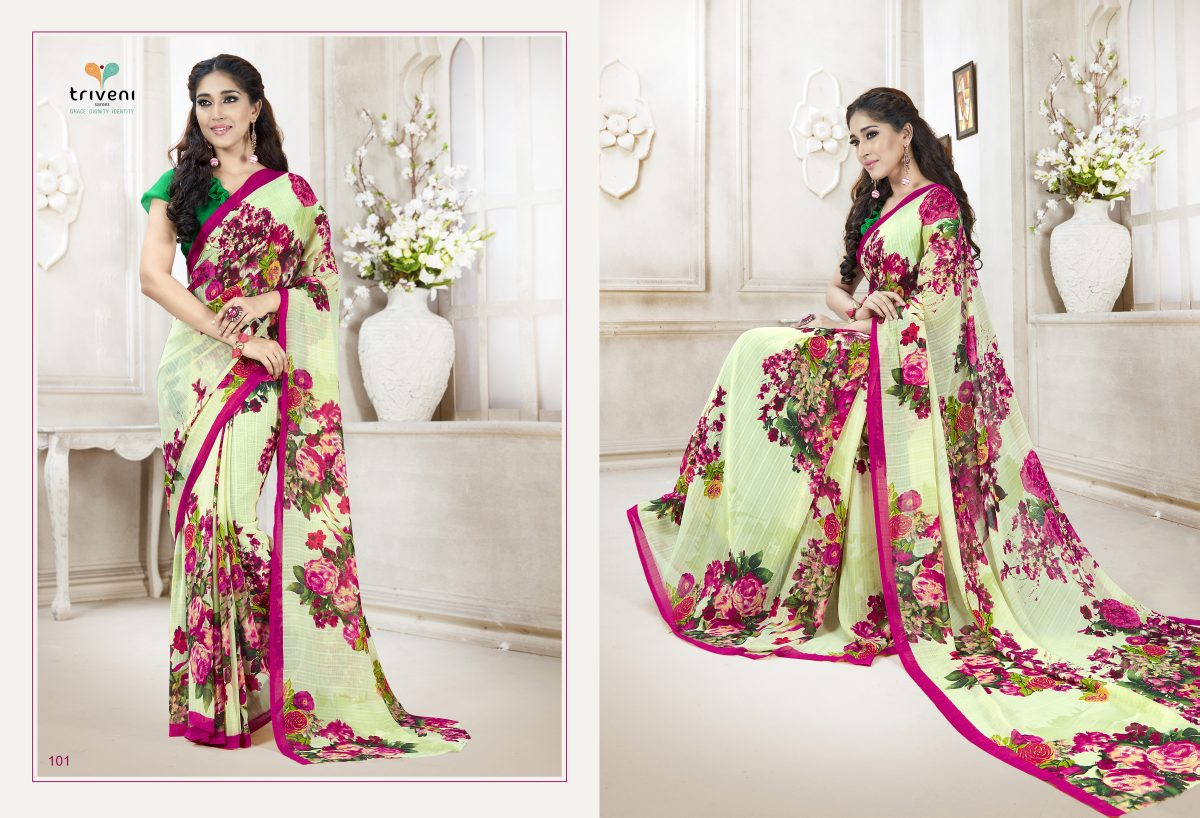Sophie – Attractive Printed Elegant Looking Printed Saree