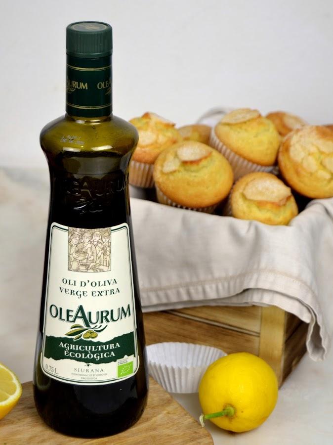 """Magdalenas """"de la abuela"""" con aceite de oliva"""