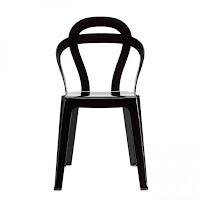 Műanyag design székek