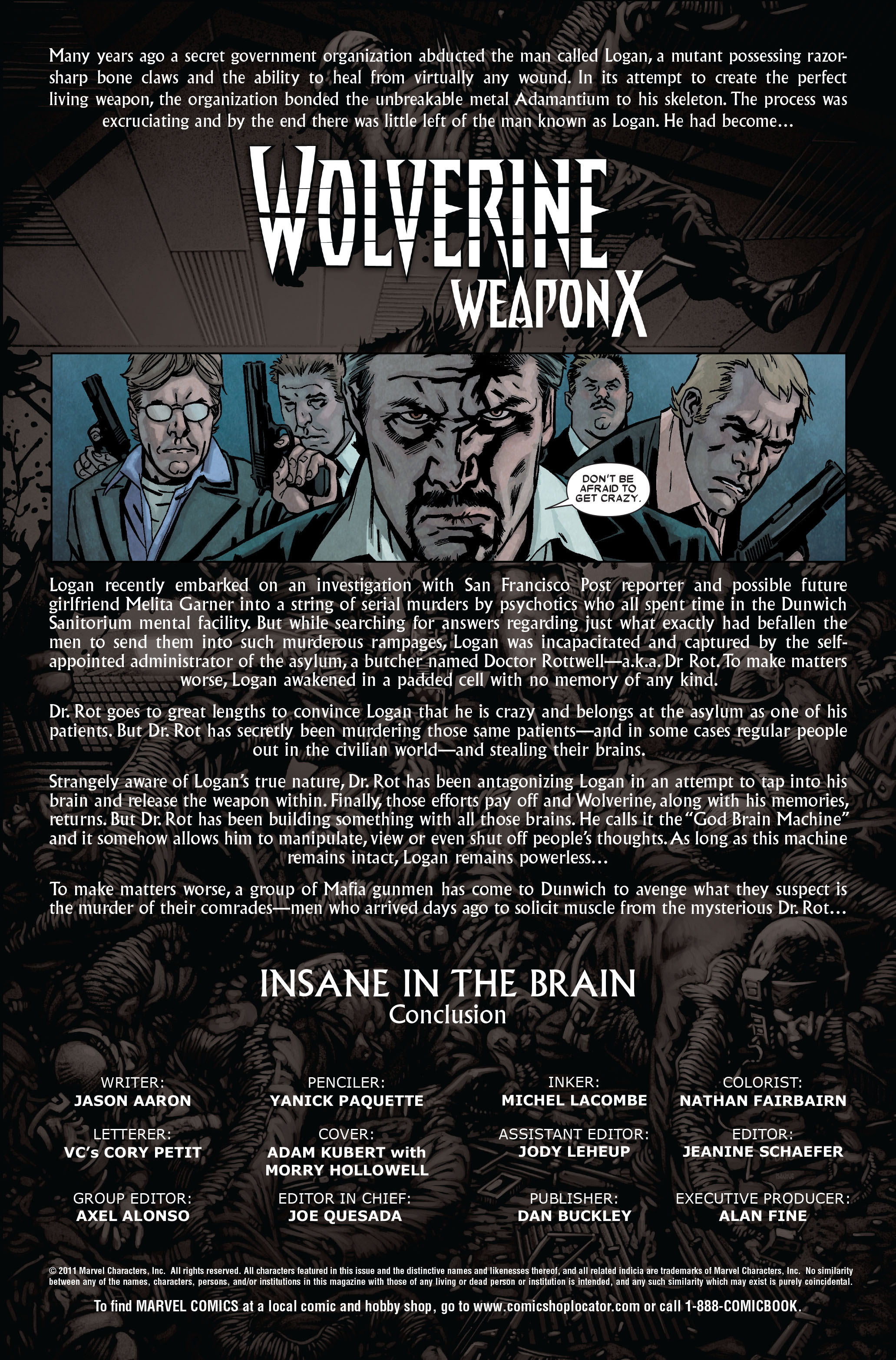 Read online Wolverine: Weapon X comic -  Issue #9 - 2