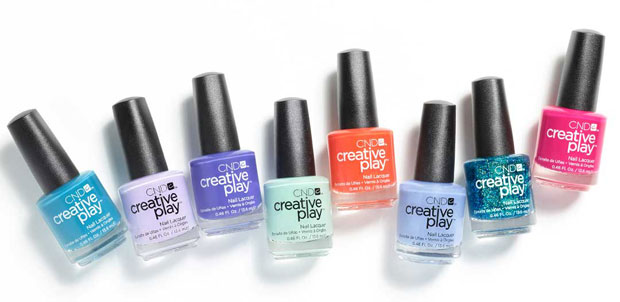 CND Creative Play Nail Lacquer Sunset Bash Collection - with swatches!