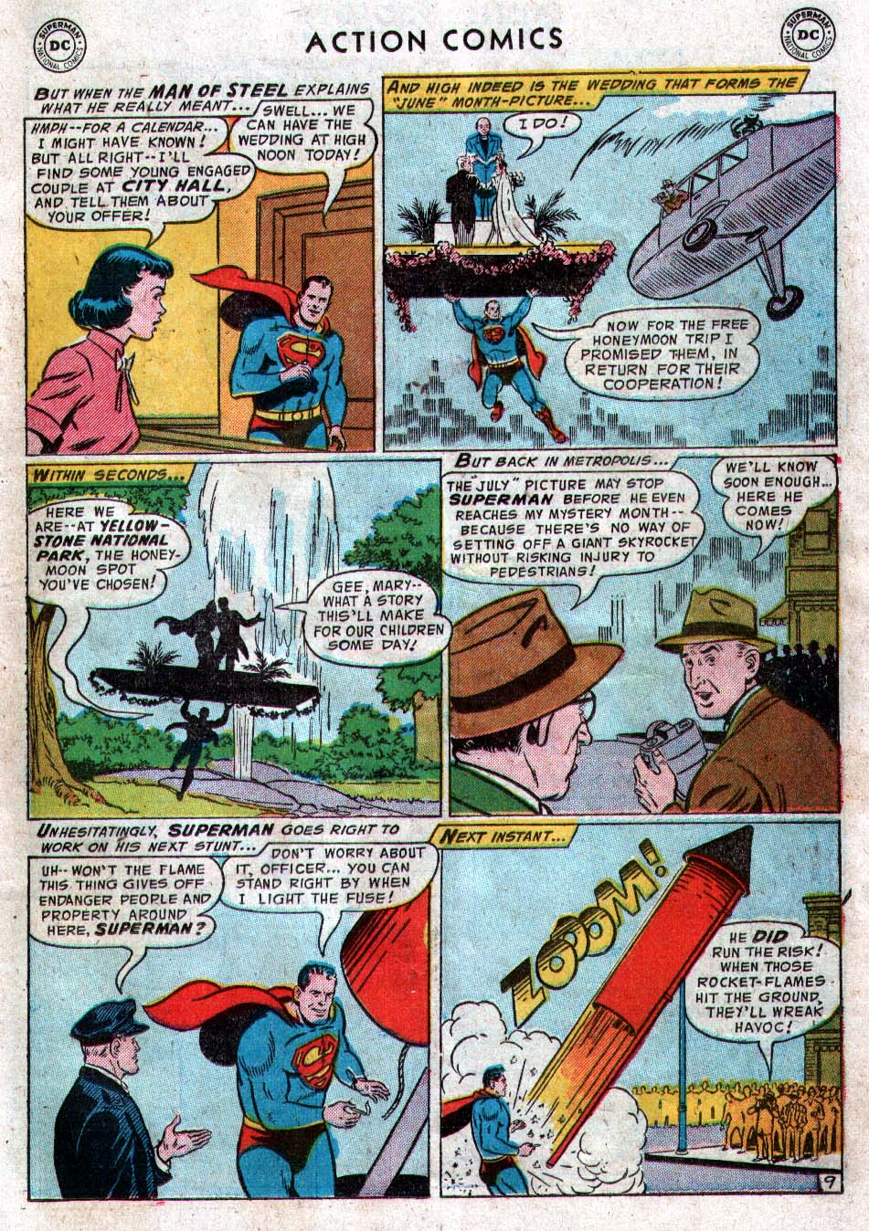 Read online Action Comics (1938) comic -  Issue #212 - 11