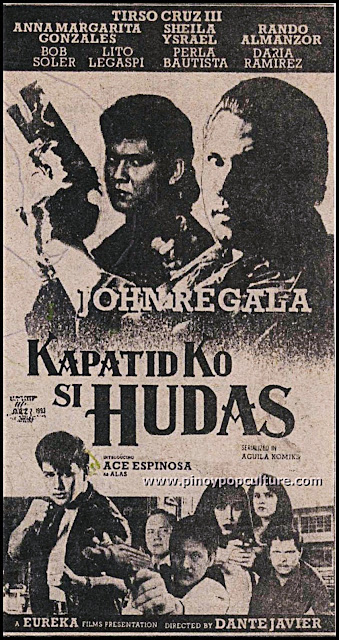 Kapatid Ko Si Hudas, John Regala, Hudas, action movies