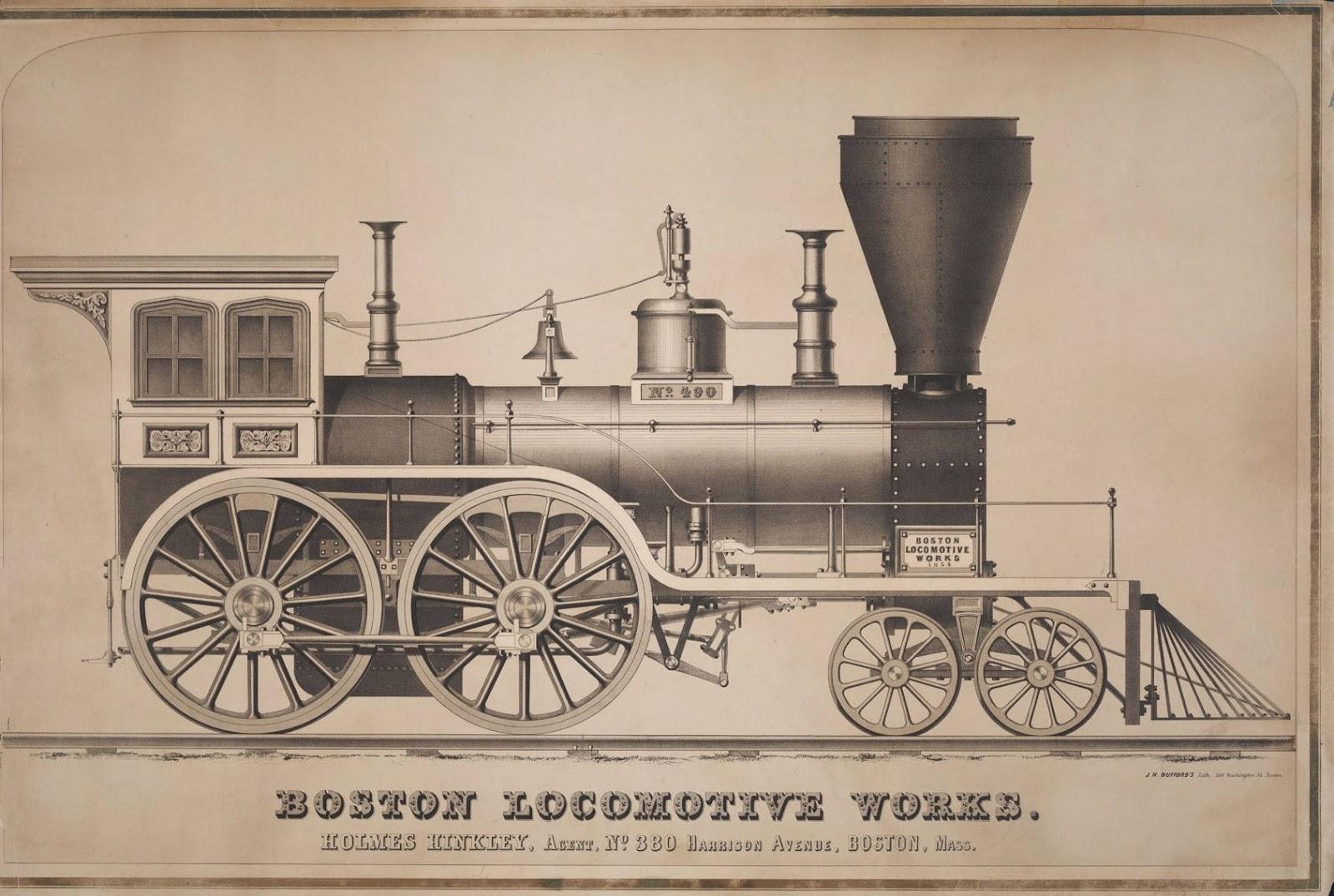 BibliOdyssey: Locomotive Lithographs