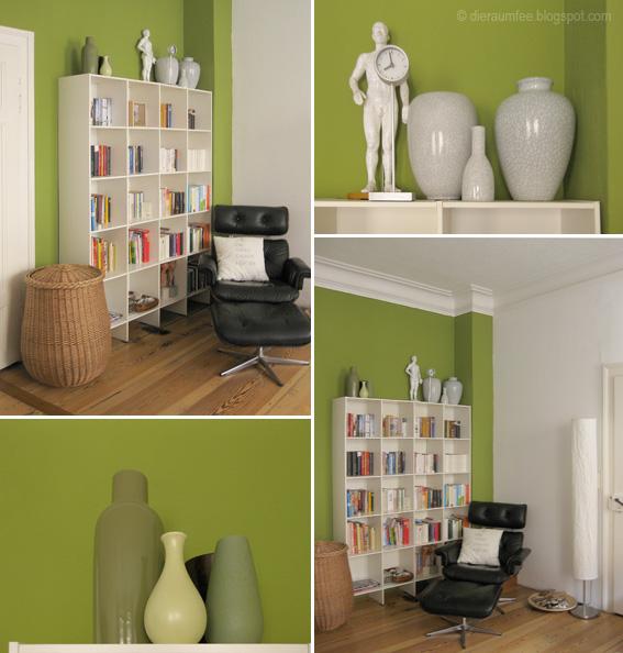 Bücherregal U0026 Stehleuchte: Ikea, Vasen U0026 Wäschekorb: Gebrauchtwarenhof,  Sessel: Von Privat Via EBay, Kissen: DIY