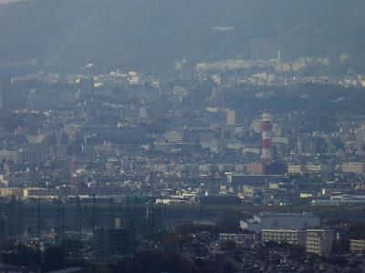 獅子窟寺境内からの眺望