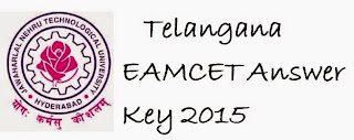 Telangana TS EAMCET Answer Key 2015