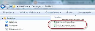 VBA: Función FileCopy para copiar y mover ficheros desde Excel