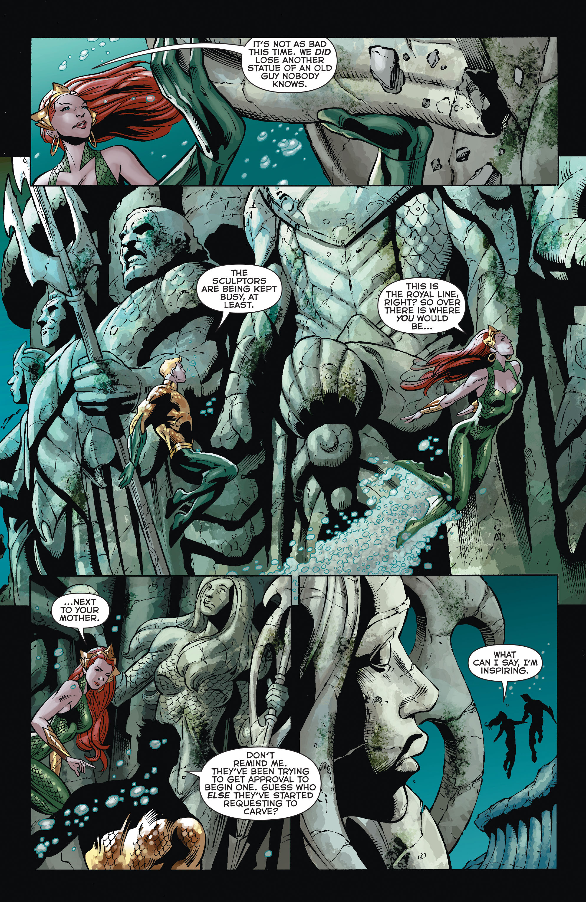 Read online Aquaman (2011) comic -  Issue #35 - 10