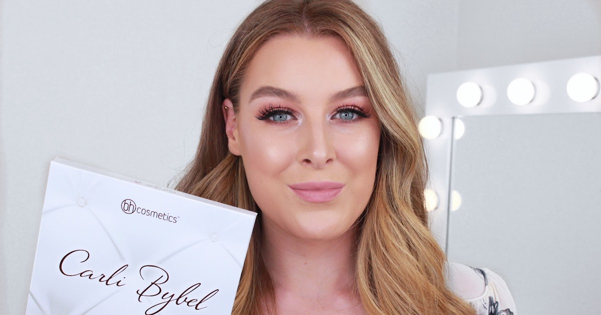 Carli Bybel Deluxe Edition Palette Review Swatches Giveaway