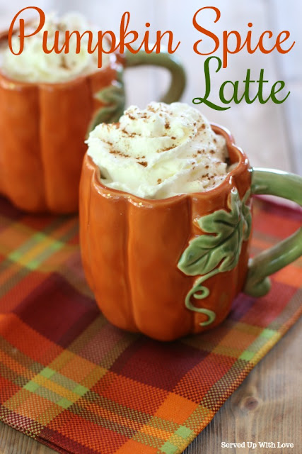 Making a Pumpkin Spice Latte recipe at home is super easy and are a fraction of the cost of those famous coffee shops.
