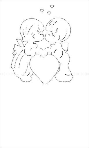 tarjeta amor moldes
