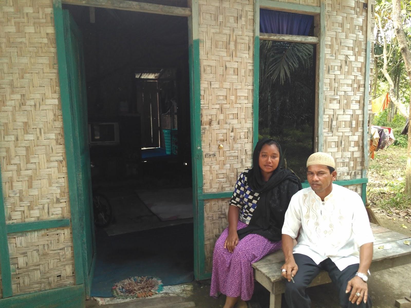 Keluarga Mukliadi Mengharapkan Rumah Layak Huni