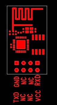 PCB ESP-01 V1