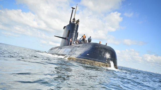 Έκθεση για το χαμένο υποβρύχιο της Αργεντινής