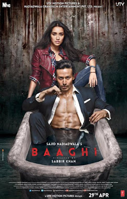 Baaghi 2016 Hindi  130mb HEVC Mobile Download Now