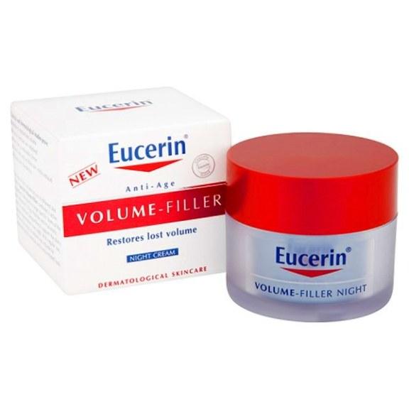 EUCERIN Volume Filler Night Cream Krim malam terbaik di drugstore