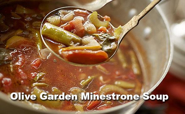 Olive garden minestrone soup olive garden recipes for Minestrone soup olive garden recipe