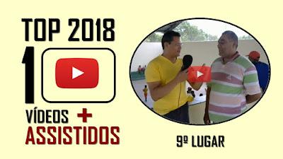 TOP 10 Vídeos mais assistidos em 2018 - 9º lugar