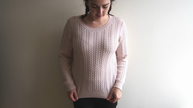 Pale pink jumper