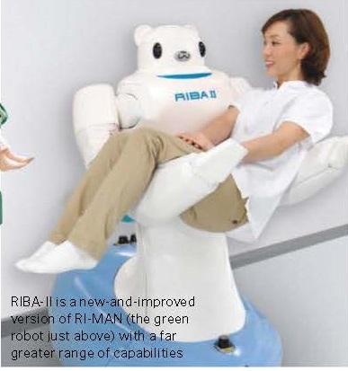 RIBA-II,  intelligent lifting robot
