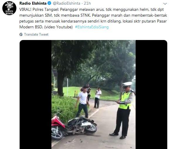 Kumpulan Tweet Netizen tentang Tilang Ngehe