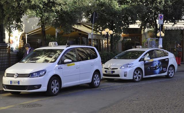 Táxi em Florença