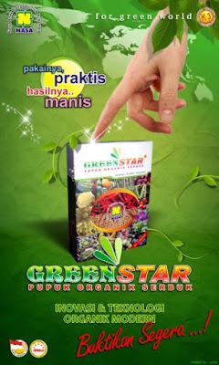 Pupuk Serbuk Organik Greenstar