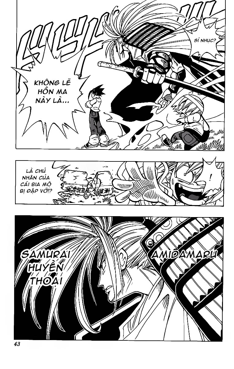 Shaman King [Vua pháp thuật] chap 1 trang 44