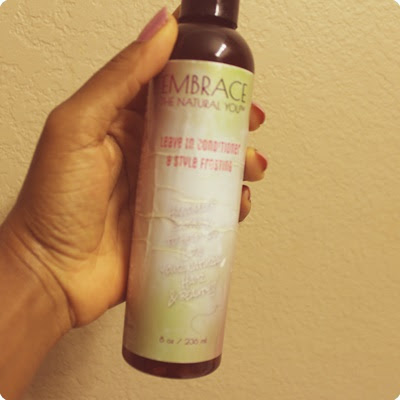 Embrace the Natural You Leave In Conditioner DiscoveringNatural