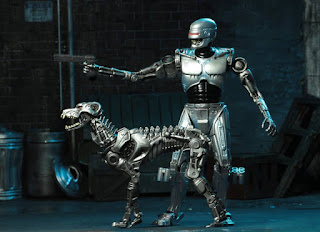 Robocop Vs Terminator - Endocop/Terminator Dog Action Figure 2-pk (Dark Horse Comics)