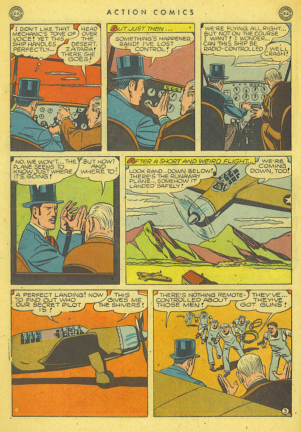 Read online Action Comics (1938) comic -  Issue #78 - 38